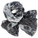 Ladies scarf shawl SCARF 9D0165 Grey
