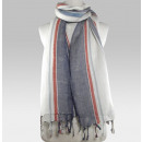 Natural Linen  scarf - Scarf Spring Summer