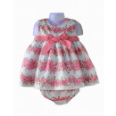 hurtownia Odziez dla dzieci i niemowlat:Róże print dress drink