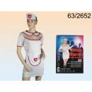 hurtownia Plaszcze & Kurtki: Sexy Nurse kostium 3 szt Closeouts