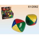 Leatherette juggling ball