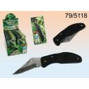 Metal pocket knife 17cm