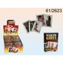 nagyker Társasjátékok: Kártyázás, Hot  Girls, 54 kártya laponként,