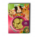 Biscuit drops for  rodents and rabbits with Herbs
