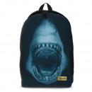Shark -Reißverschluss Rucksack-Hoch