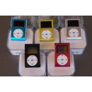 Mp3 player mini  aluminum with dispay screen