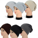 Women Men Knitted Long Beanie Toque