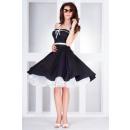 Rockabilly Pin Up Kleid schwarz - 30-1