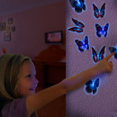 LED Butterfly with Suction Pad