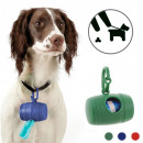 Dog Poop Bag  Holder (with 15 Bags)
