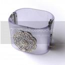 Bracelet  Methacrylate - Maxi Purple Bracelet