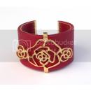 Flower Relief  Bracelet -  Bracelet Synthetic ...