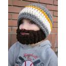 hurtownia Odziez dla dzieci i niemowlat: Czapka z brodą dla dzieci