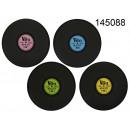 Pad auf dem Tisch Vinyl-Schallplatte