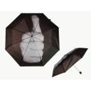 Regenschirm mit Aufdruck