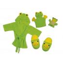 hurtownia Odziez dla dzieci i niemowlat: BATH SET żabę? /  Baby pozycji / zabawki