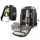 Luxury picnic  backpack with  cooler bag ...
