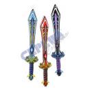 Aufblasbares  Schwert, 3-fach sortiert