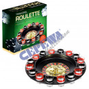 Roulette drinking game, about 29 cm
