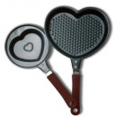 Heart Frying Pan - 16 cm