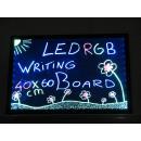 LED Schreibtafel 60 x 40 cm