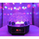 LED-Kristall Magic Ball
