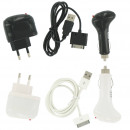 Charging Set 4in1  for iPhone 3G / 3GS / 4