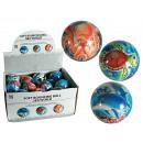 Soft bouncing  ball, Sea World, ca. 7.5 cm, 3 ass.,