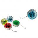 Kunststoff-YoYo  mit Kupplung & Kugellager, ca. 7 x