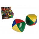 Imitation Leather  Juggling Ball, ca. 6 cm, 4 colou