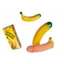 Kunststoff-Banane,  Sexy Penis, ca. 20 cm