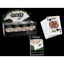 nagyker Társasjátékok: Kártyáztak  kartonból, Poker, 54 kártyák laponként