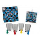 nagyker Társasjátékok: Alkoholfogyasztás  kocka játék 4 pohár & Event