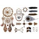 Tattoo Flash  Tatuaggi metallo oro argento metalliz
