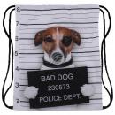 Rucksack Tasche  Mugshot Bad Dog