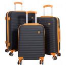 ABS luggage 3tlg Santorini orange