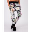 PANTS SAROUEL  FLOWERS 5157 Color: Black