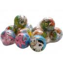 Soft / Spring  Ball, animals Ø7, 5cm many so