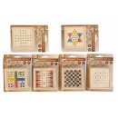 Sorted travel game  on the go 9x9cm 6 games
