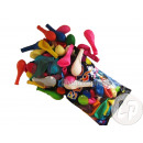 lot 100 assorted  opaque latex balloons 29x40cm