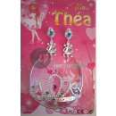 Tiara i ozdoby  biżuteria kolczyki Thea