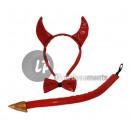 accessories adult costume devil shiny