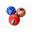 class leather  soccer ball 5 assorted colors