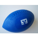 Mini rugby ball  with blue logo (not inflated)
