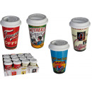 Porzellan-Becher  &quot,Coffee Brand to go&quot,