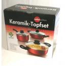 Keramik Topf-Set 6tlg. - Sonderpreis