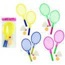 Badminton - 4 assorted ca 27 cm