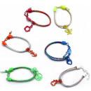 Zipper Bracelet 6  assorted Reissverschlussarmb