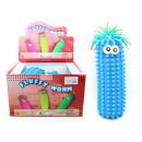 Fluffy Eduplay  Wellness Massage worm blue - ca 33c