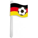 Deutschland Rassel ca 19cm